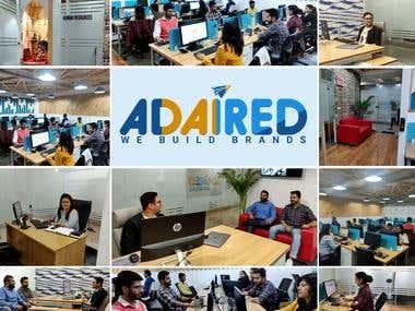AdAired Digital Media Team in action.