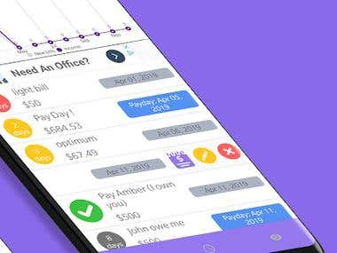 Kbill, the free bills reminder and income manager app, comes with a clean and neat design and the interface is so user-friendly that you will get the whole idea after adding your very first bill or payday to the app. You have the option to set up to 3 notification days and the time you like to receive it. It will make sure you will never miss any due date and pay all your bills on time
