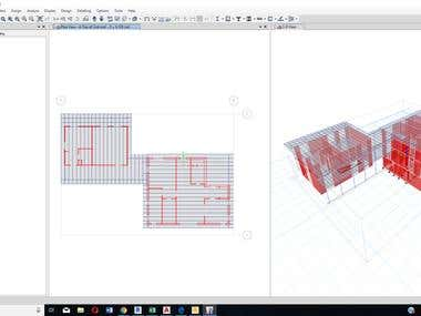 Structural Design for a fence with total 8m height , all lateral forces include the design