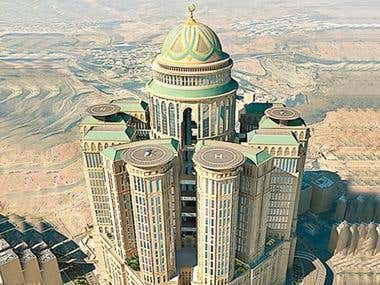 I worked as Technical manager for 45 Floor Tower