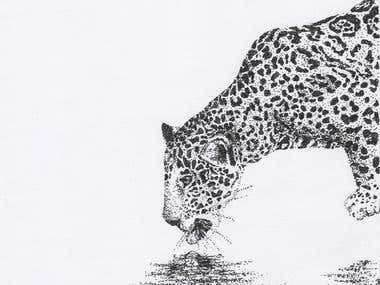 I've made these illustrations using different media to make them look realistic. Mainly through pointillism.