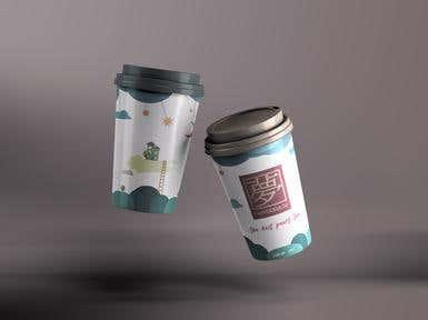 Cup Design - Fantasia Tea Cafe