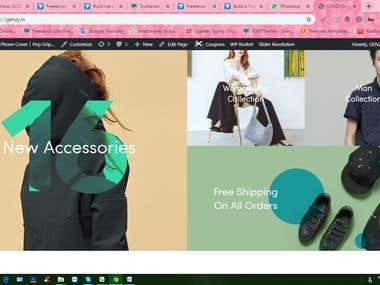 Hi we made beautiful Ecommerce cover site with good variation.