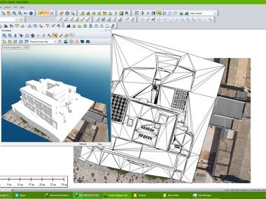 Georeferencing of 2D dwg file and 3D stl file