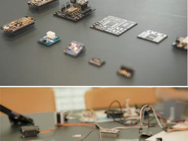 Prototype embedded IoT solution for a consumer product. Design back-end and front-end integration suitable for production. Design and lead electronics manufacturing production, assembly and integration process.