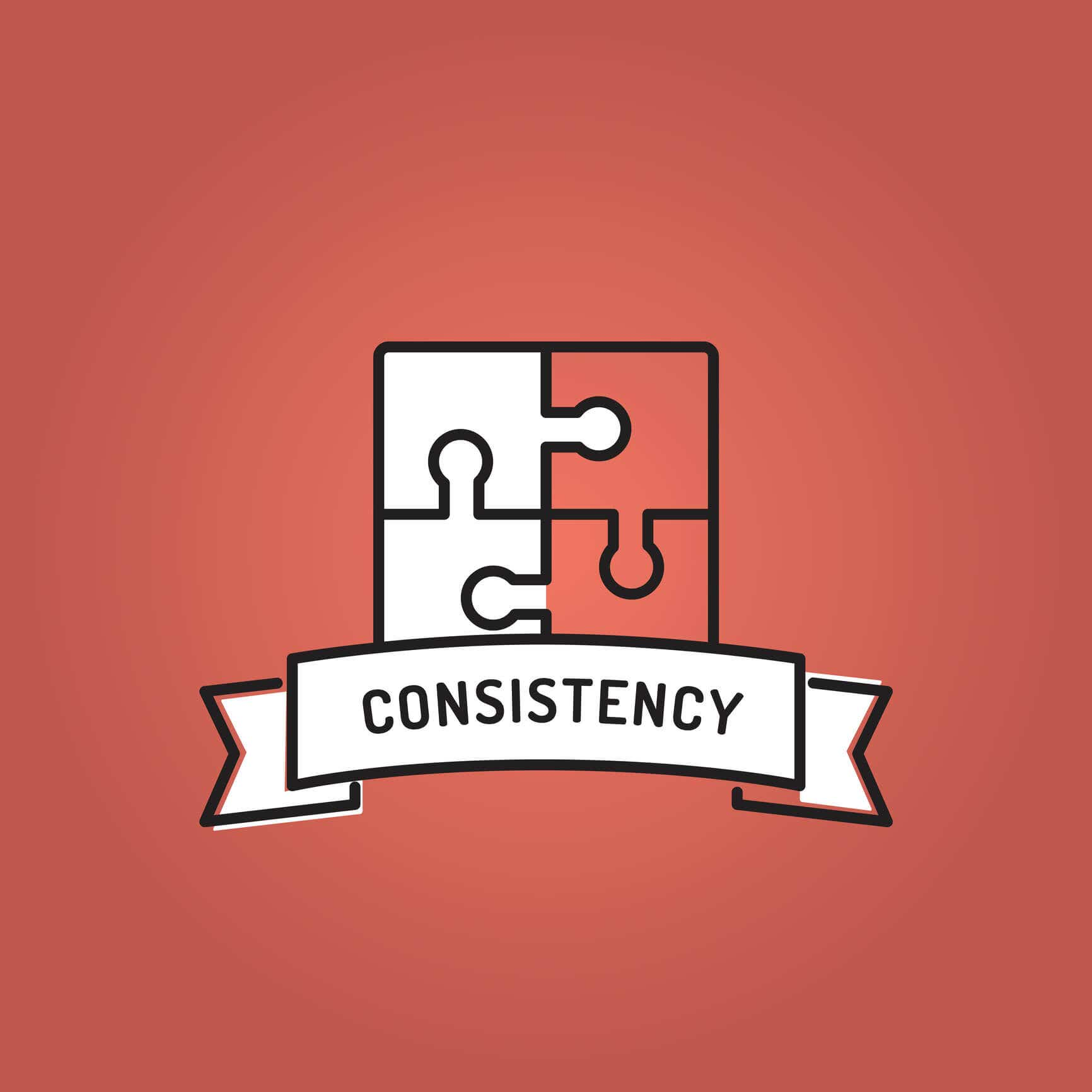 graphic design give business consistency