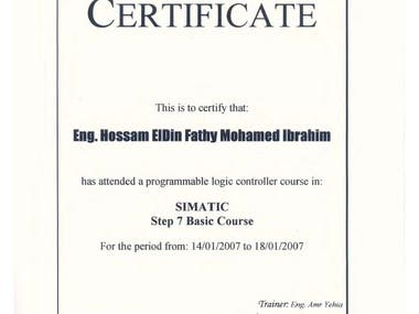 Siemens SIMATIC Basic Course