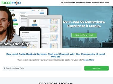 Buy Local Guide Books & Services, Chat and Connect with Our Community of Local Moo'ers