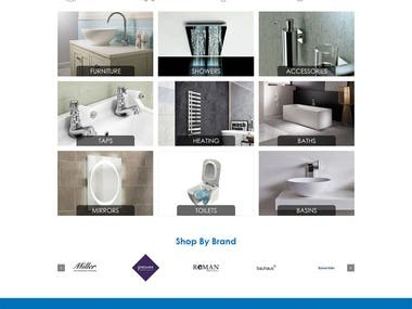 One of London's oldest and most established bathroom showrooms, invited me to build an eCommerce website for a catalogue of over 9000 products.