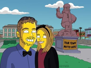 Simpsons Portraits 3