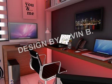 Few of my many bedroom design that already finish and build in my days working in Saudi Arabia back in 2011 to 2017. I have more than 200-300 bedroom designs.