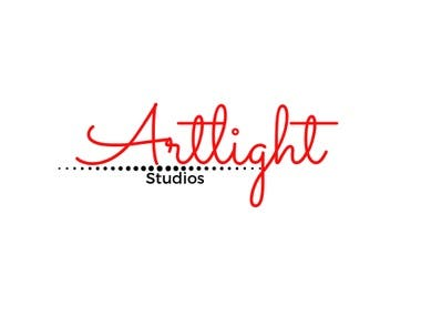 A logo for Artlight Studio