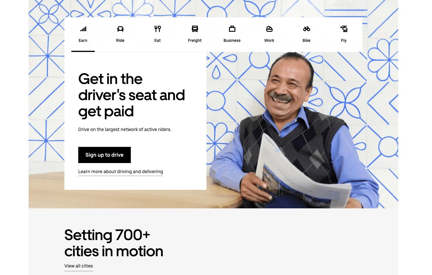 uber topography design