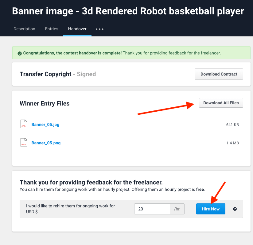 How to post a contest on Freelancer.com - Image 1