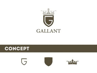 logo for gallant