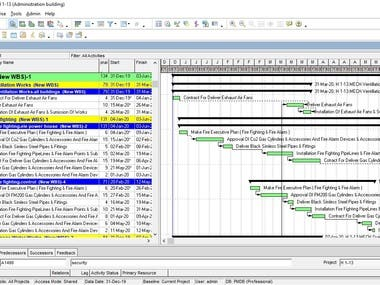 i have 8 years experience on structural building  Know i have projects Ececuting according to schedualling that i made on primavera p6  this schedual saved us alot of time and money  so iam interresting to help you for your project to make aschedual for planning your scope