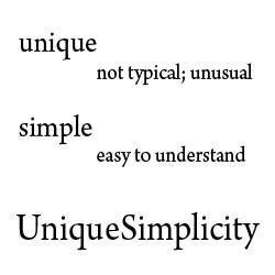 Profile image of uniquesimplicity