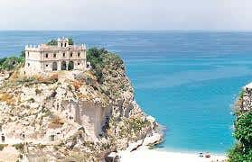 House in Tropea in the south