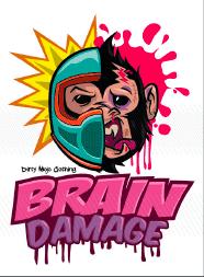T-Shirt Design: Brain Damaged